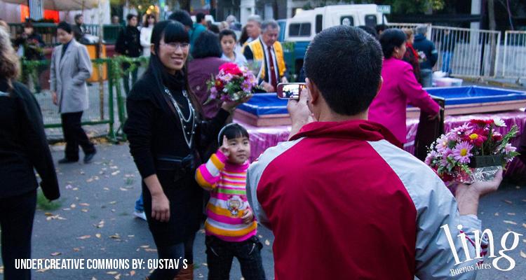 Tradicional barrio chino en Buenos Aires