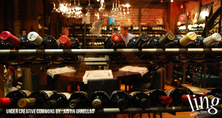 Vinoteca en Buenos Aires