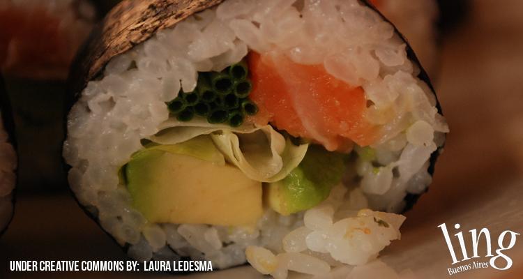 Comer sushi en Buenos Aires