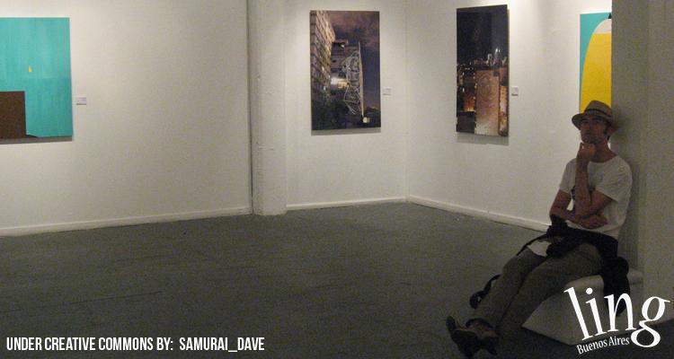 Galería de arte under en Buenos Aires