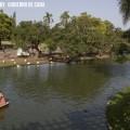 En bote en los lagos de Palermo