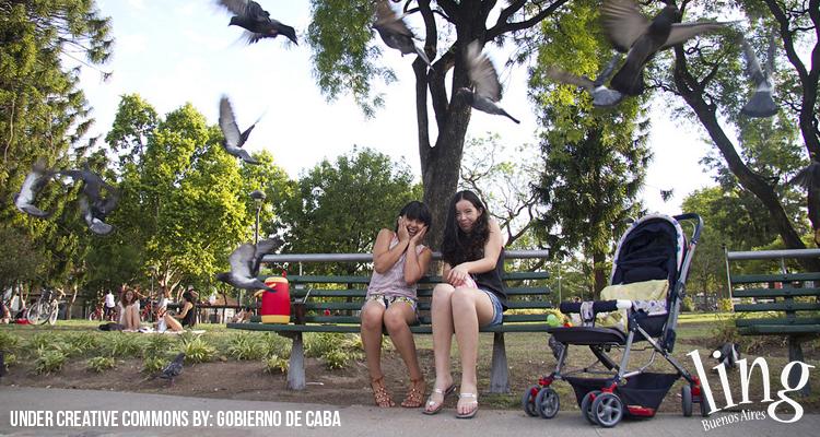 Espacios verdes de Buenos Aires