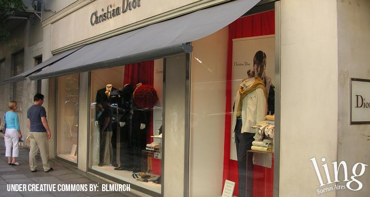 Tienda Christian Dior en Buenos Aires
