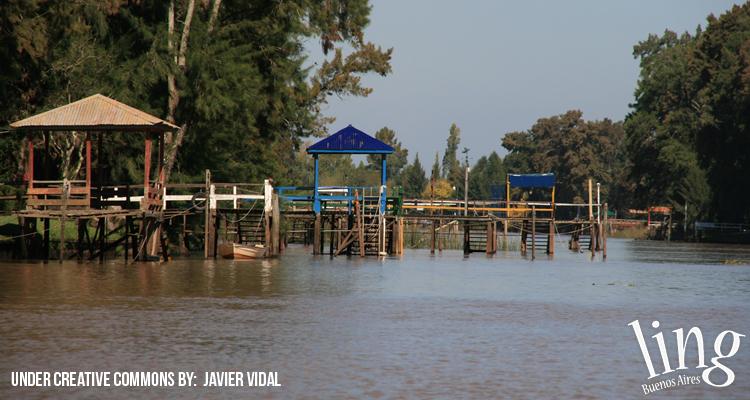 Pescar en el Delta del Tigre