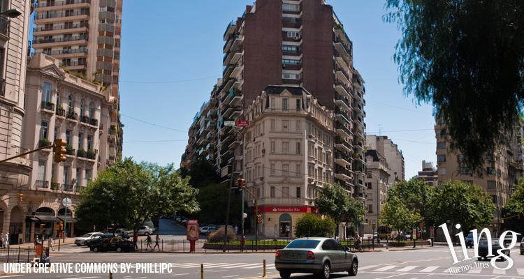 Recoleta, barrio exclusivo de Buenos Aires