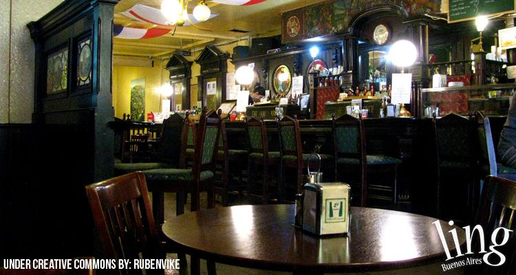 Pub irlandés típico