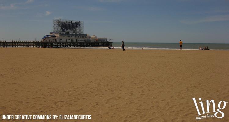 Visitar la playa en Mar del Plata