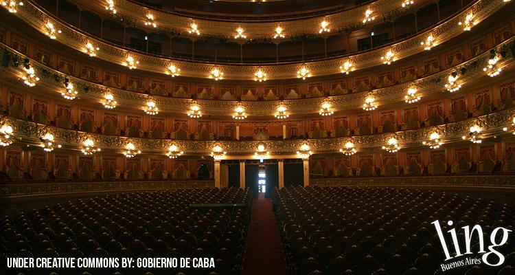Visitas guiadas en el Teatro Colón