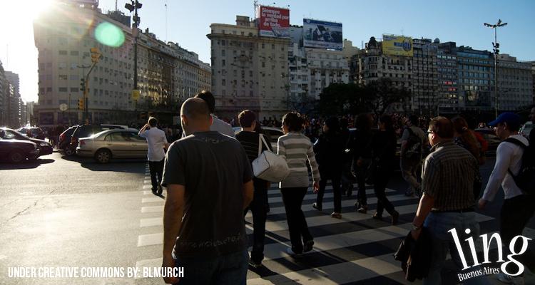 Elegir un medio de transporte en Buenos Aires