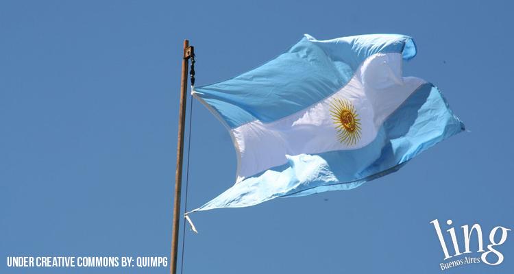 Feriado del Día de la Bandera en Argentina