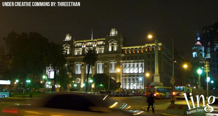 Palacio de Justicia en Buenos Aires
