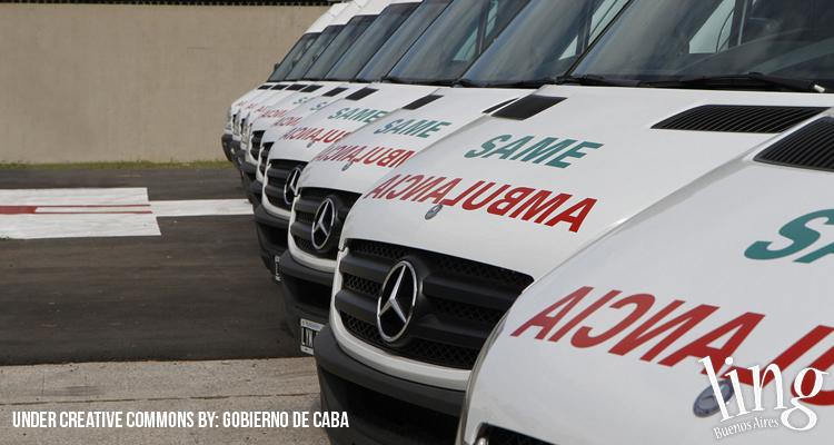 Pedir una ambulancia en Buenos Aires