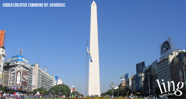 Touristic activities in Buenos Aires