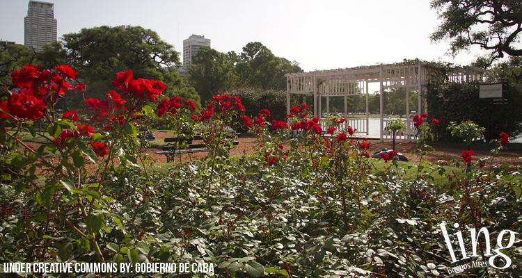 Espacios verdes en Buenos Aires