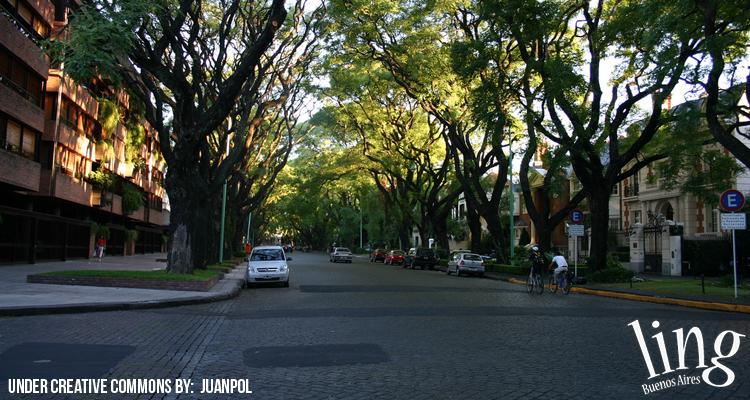 Paseo por el barrio de Belgrano
