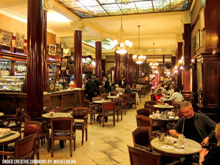 Salón del Café Tortoni