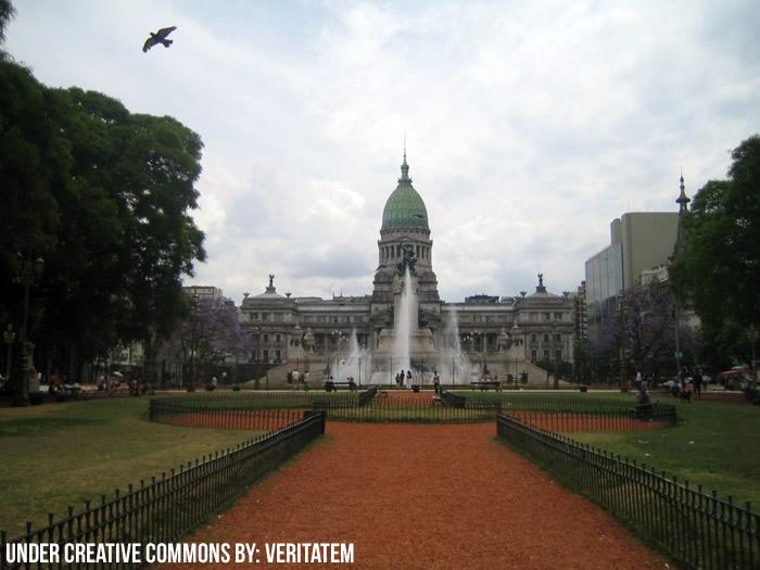 Vistas de la Plaza Congreso