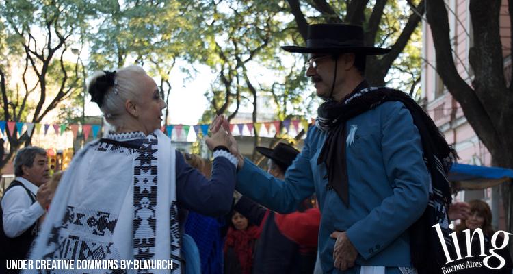 Bailarines de Folklore en Buenos Aires