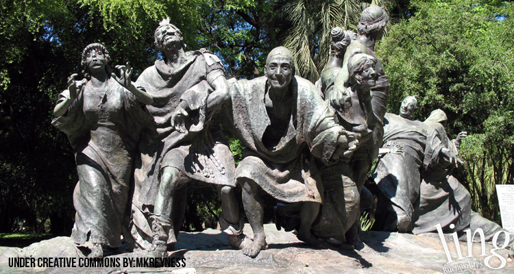 Esculturas en el Jardín Botánico