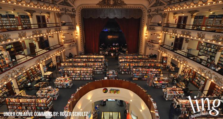 Majestuosa Librería El Ateneo