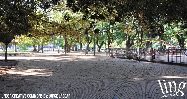 Plazas y parques en Capital Federal