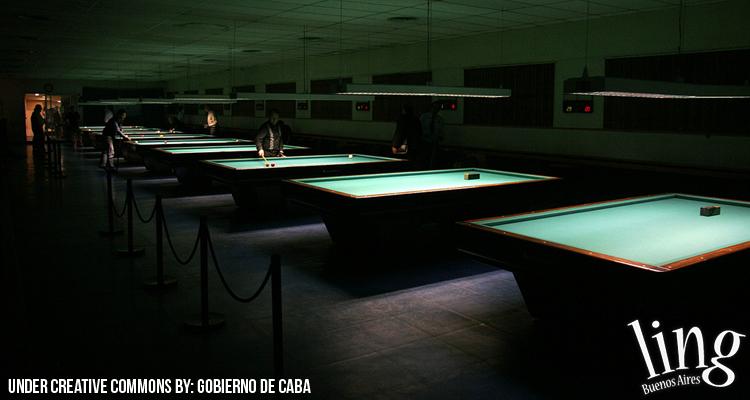 Bares con pool en Buenos Aires