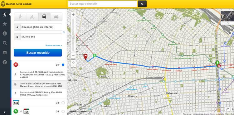 Paso a paso como utilizar el mapa Interactivo de CABA