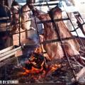 Cordero patagónico al asador