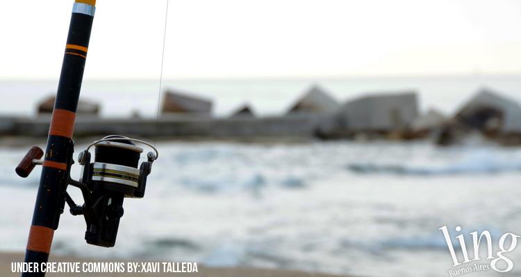Día de pesca en Buenos Aires