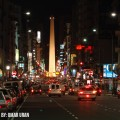 Luces en la calle Corrientes