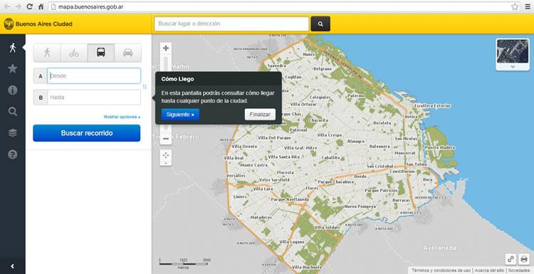 Mapa Interactivo CABA